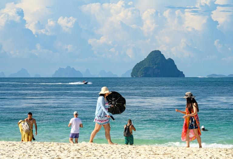 Tourism accounts for 18 percent of Thailand's gross domestic product and Chinese holidaymakers make up more than a quarter of total arrivals (AFP Photo/Mladen ANTONOV)