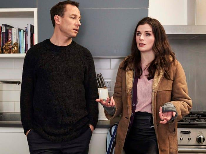 """Tobias Menzies and Aisling Bea in """"This Way Up."""""""