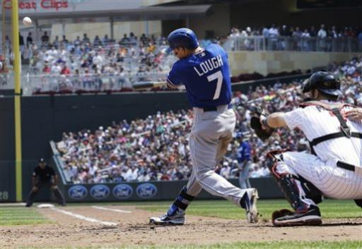 Lough homers, hits 3 doubles to lead KC over Twins