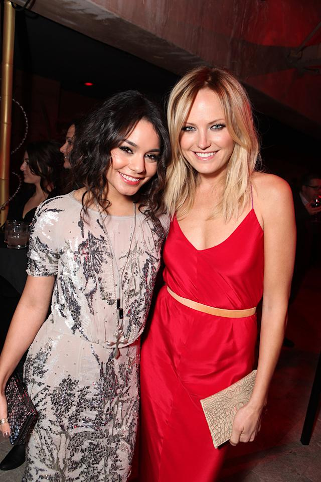 "<a href=""http://movies.yahoo.com/movie/contributor/1808436979"">Vanessa Hudgens</a> and <a href=""http://movies.yahoo.com/movie/contributor/1808422842"">Malin Akerman</a> at the Los Angeles premiere of <a href=""http://movies.yahoo.com/movie/1810133258/info"">Sucker Punch</a> on March 23, 2011."