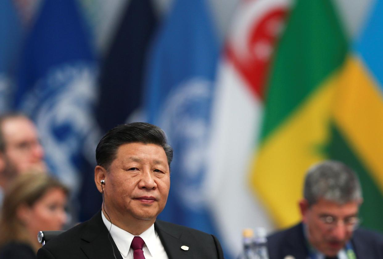 Chinese President Xi Jinping attends the opening of the G20 leaders summit in Buenos Aires, Argentina, Nov. 30, 2018. (Photo: Sergio Moraes/Reuters)