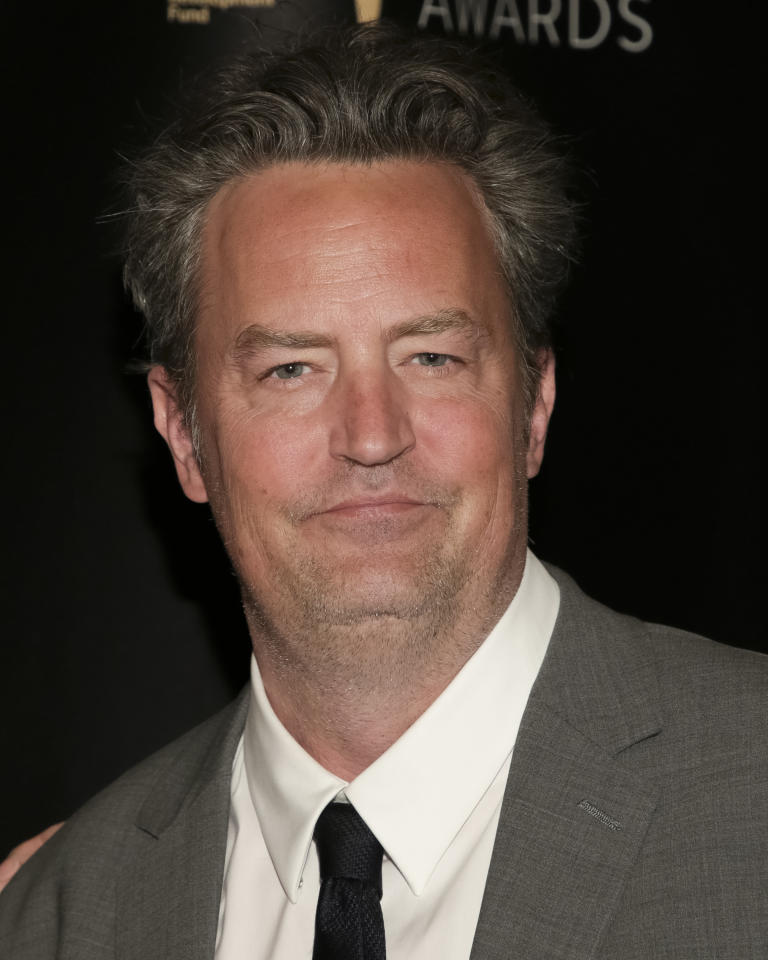 Actor Matthew Perry attends the 32nd Annual Lucille Lortel Awards at the NYU Skirball Center on Sunday, May 7, 2017, in New York.(Photo by Brent N. Clarke/Invision/AP)