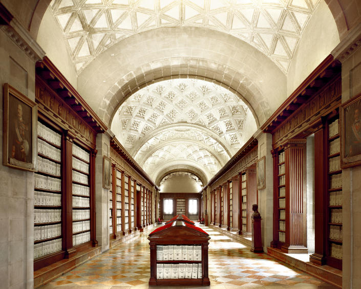 <p>General Archive of the Indies, Sevilla, Spain. (Photo: Massimo Listri/Caters News) </p>