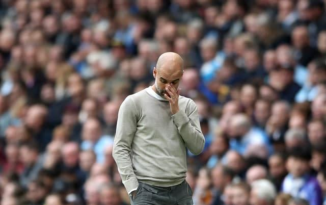 Pep Guardiola is not happy with the change in schedule (Nick Potts/PA)