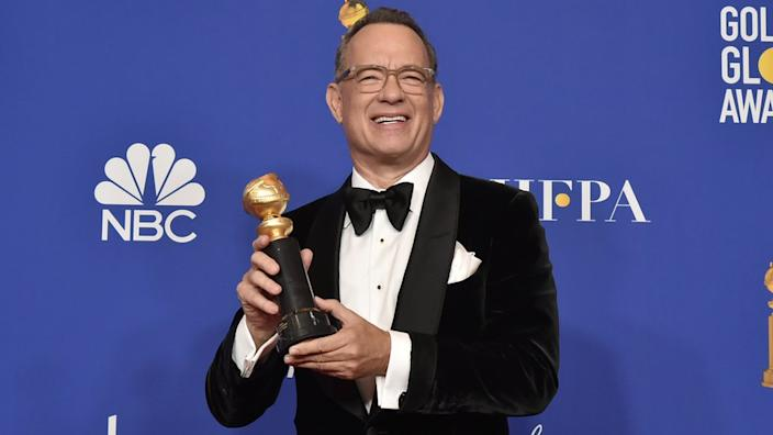 Tom Hanks was named the recipient of the Cecil B DeMille award at the Golden Globes earlier this year