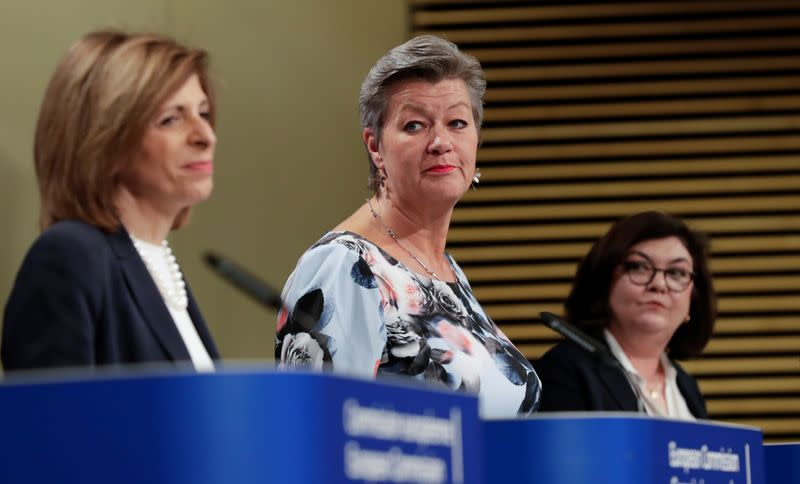 News conference on tourism and transport at European Commission in Brussels