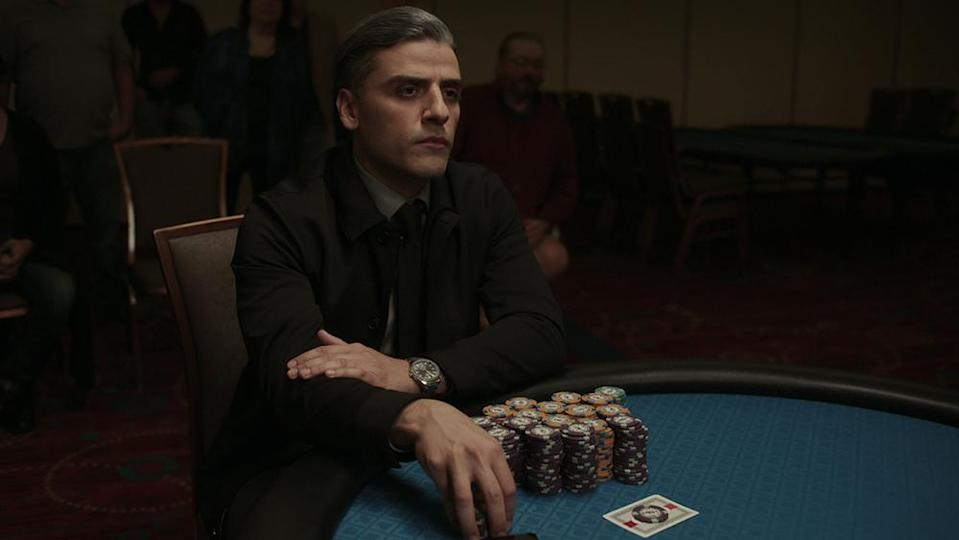 CARD COUNTER Oscar Isaac stars as William Tell in THE CARD COUNTER, a Focus Features release. Credit: Courtesy of Focus Features