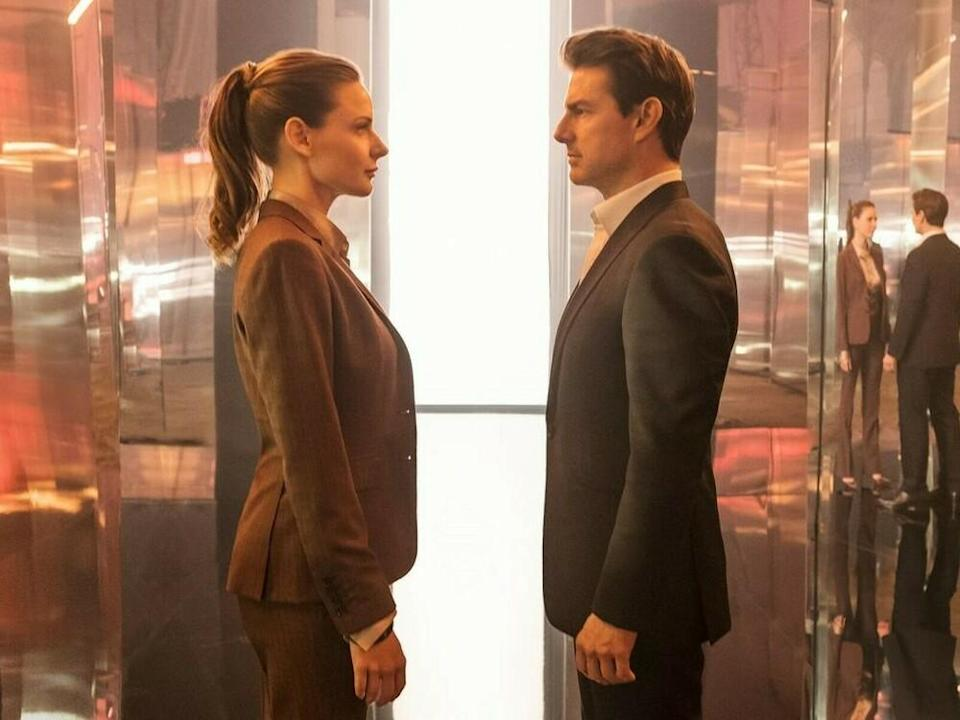 """Mission: Impossible - Fallout"": Kann Ethan Hunt (Tom Cruise) Ilsa Faust (Rebecca Ferguson) vertrauen? (Bild: Chiabella James 2018 Paramount Pictures)"