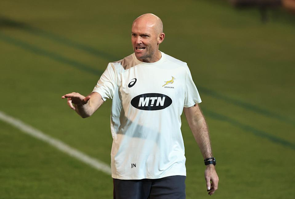 Springbok coach Jacques Nienaber has deviated from a strategy that secured the 2019 Rugby World Cup (Getty Images)