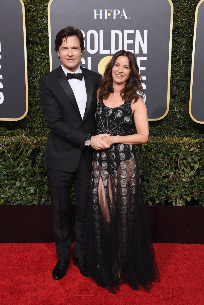 <p>Jason Bateman and Amanda Anka attend the 76th Annual Golden Globe Awards at the Beverly Hilton Hotel in Beverly Hills, Calif., on Jan. 6, 2019. (Photo: Getty Images) </p>