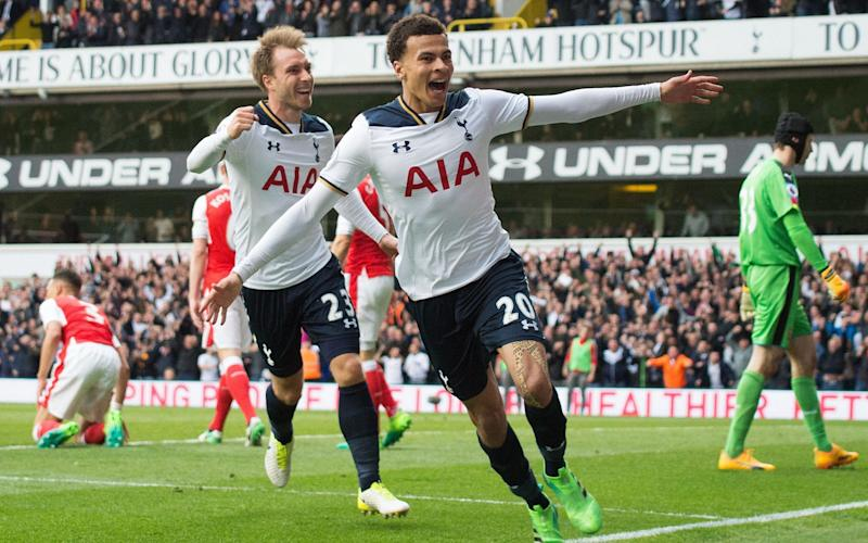 Tottenham are a huge 17 points clear of their biggest rivals - Rex Features