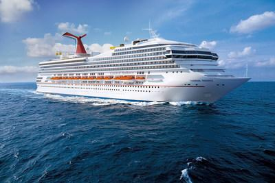 Carnival Victory will be transformed into Carnival Radiance when the ship undergoes a $200 million dry dock in 2020.