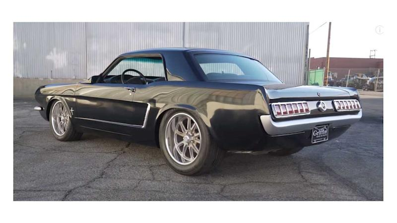 Modern Mashup 1965 Ford Mustang Wide-Body Heading To SEMA