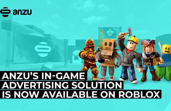 Anzu's in-game ad tech is now available on Roblox.