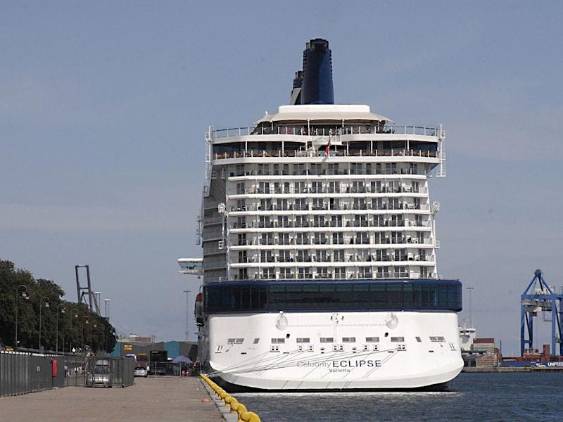 Celebrity Eclipse in 2011