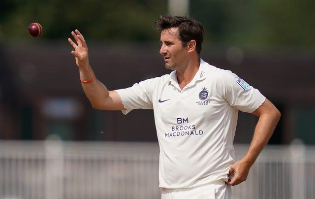 Tim Murtagh took four wickets in defeat for Middlesex