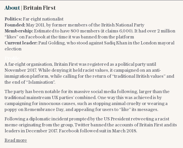 About | Britain First