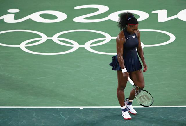 <p>Tennis great Serena Williams is a four-time Olympic gold medalist, having won doubles at the 2000, 2008 and 2012 Games as well as a lone medal in singles at the 2012 Games. (Getty) </p>