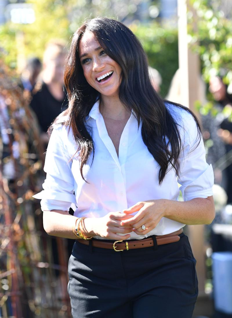 Britain's Meghan, Duchess of Sussex, attends the launching of the Smart Works capsule collection in London, Britain September 12, 2019. Mark Large/Pool via REUTERS (Photo: POOL New / Reuters)