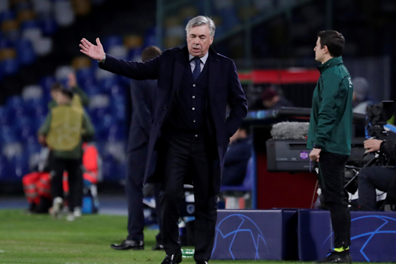 Napoli Sack Carlo Ancelotti After Reaching Last 16 of UEFA Champions League