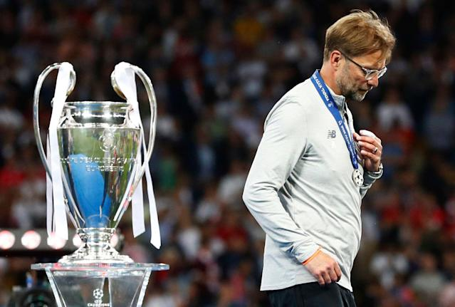Liverpool's Jurgen Klopp has lost his last six major finals as manager. Will he turn that tide on Saturday in the Champions League final? (Associated Press)