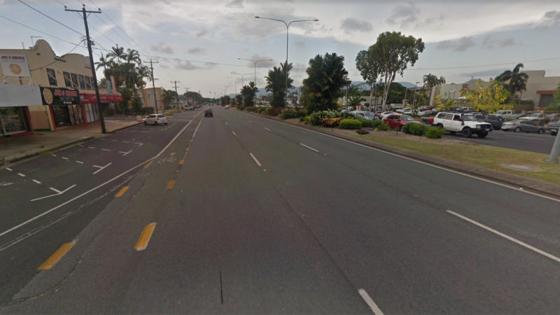 Picture shows a Google Maps photo of Mulgrave Road in Earlville, Cairns.