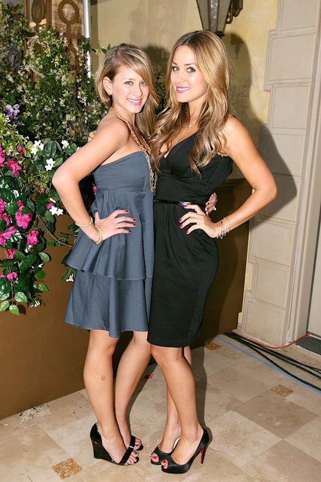 """While it's not always a good idea to live with your BFF, Lauren """"Lo"""" Bosworth and Lauren """"LC"""" Conrad are making it work on """"The Hills."""" Chris Polk/<a href=""""http://www.wireimage.com"""" target=""""new"""">WireImage.com</a> - September 16, 2008"""