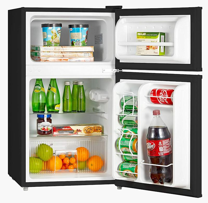 This mini-fridge has a 4.0 out of five star rating with 638 reviews. (Photo: Amazon)
