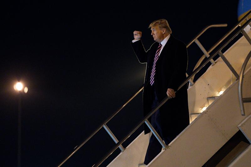 As Republicans in several other states have done, GOP officials in Nevada decided to forego any competition that might stand in the way of President Donald Trump's renomination. (ASSOCIATED PRESS)