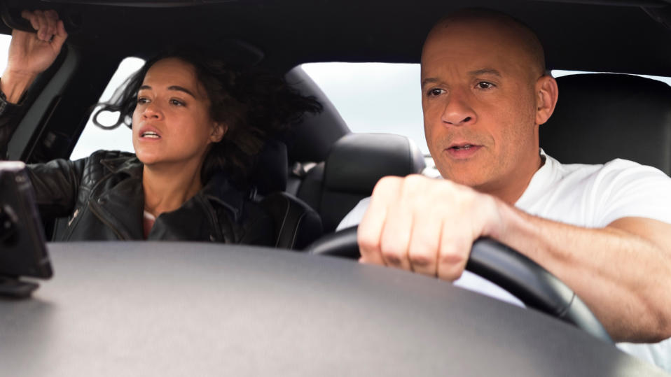 Vin Diesel says the 'Fast & Furious' franchise is moving towards its logical conclusion. (Giles Keyte/Universal)
