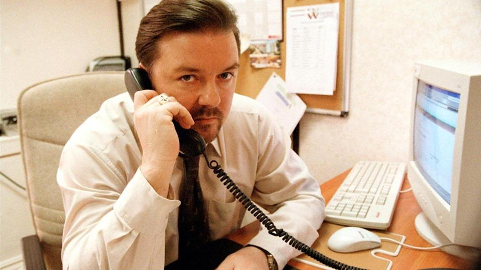 Ricky Gervais says he was joking about 'The Office' falling victim to cancel culture. (BBC)