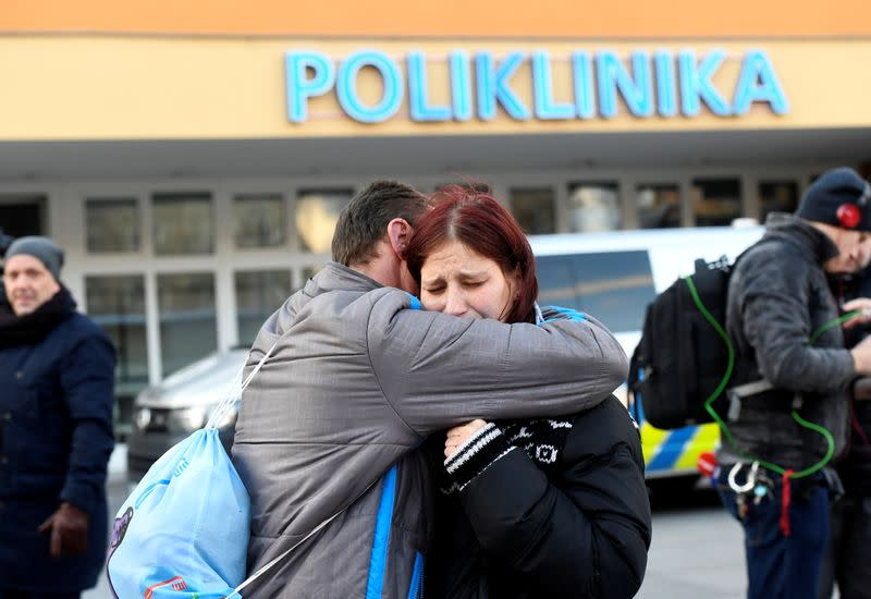 Gunman kills six in Czech hospital waiting room before shooting himself