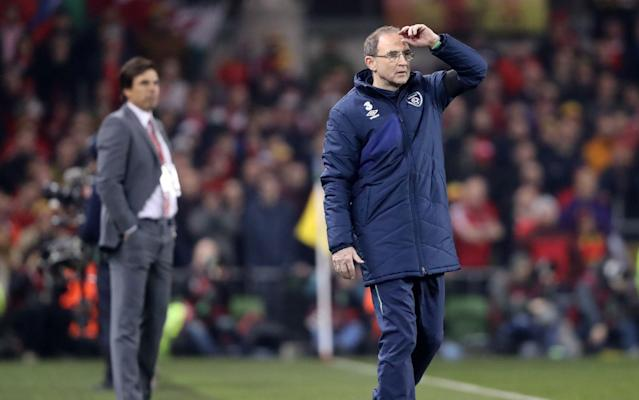 Martin O'Neill is privately angry about Neil Taylor's challenge that broke Seamus Coleman's leg - PA