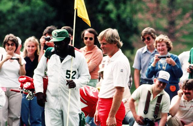 "<div class=""caption""> Eubanks was Miller's man at the Masters. </div> <cite class=""credit"">Augusta National</cite>"