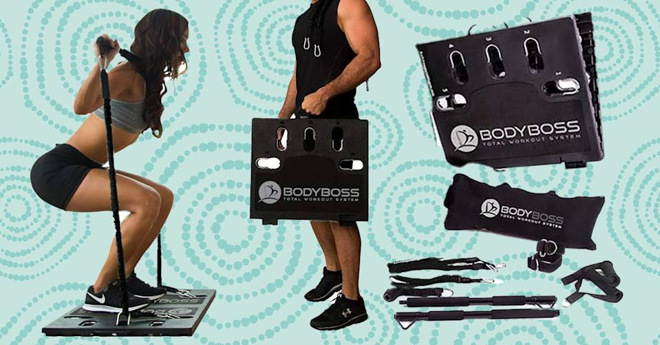 With the BodyBoss 2.0 System, you can workout anywhere. (Photo: Amazon)