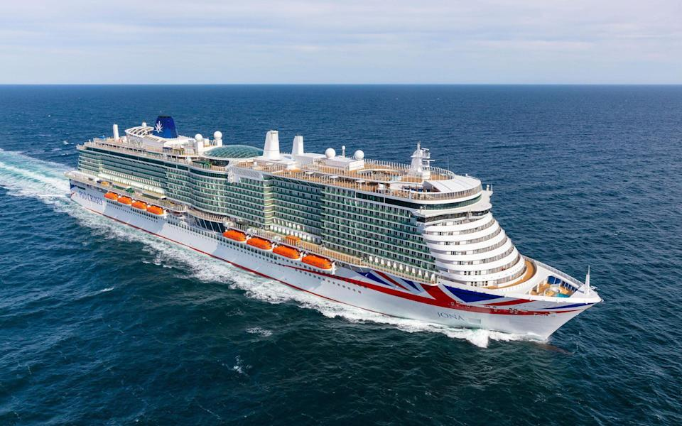 Iona is the largest ship ever built for the UK cruise market - P&O CRUISES / HERMAN USSELING