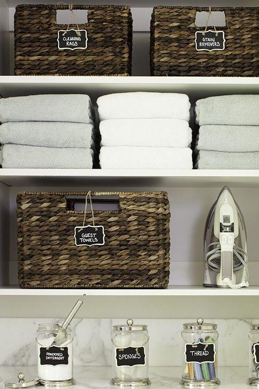 "<p>Labels don't just make it easy to find exactly what you need — they're a surefire way to give shelves full of baskets a cohesive feel. </p><p><strong>RELATED:</strong> <a href=""https://www.goodhousekeeping.com/home/organizing/a27554978/brother-p-touch-label-maker-review/"" rel=""nofollow noopener"" target=""_blank"" data-ylk=""slk:The $30 Label Maker That Totally Changed My Life"" class=""link rapid-noclick-resp"">The $30 Label Maker That Totally Changed My Life</a></p>"