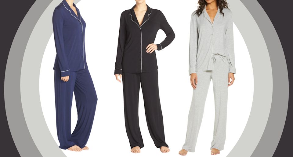 These 'soft as silk' pajamas are on sale at Nordstrom — get them before they sell out! (Photos via Nordstrom)