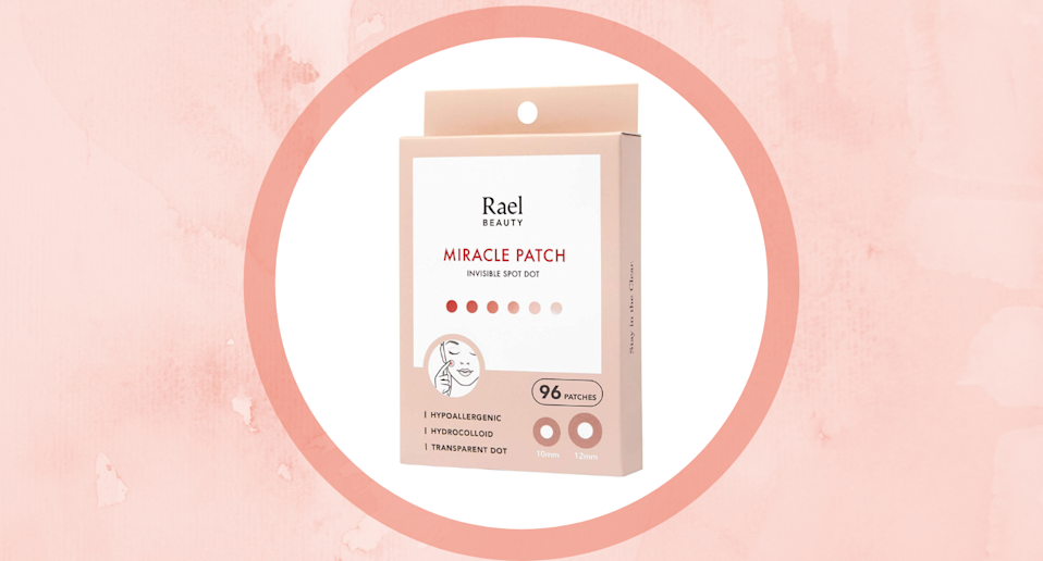 Amazon shoppers swear by the Rael Acne Pimple Healing Patches for treating breakouts.