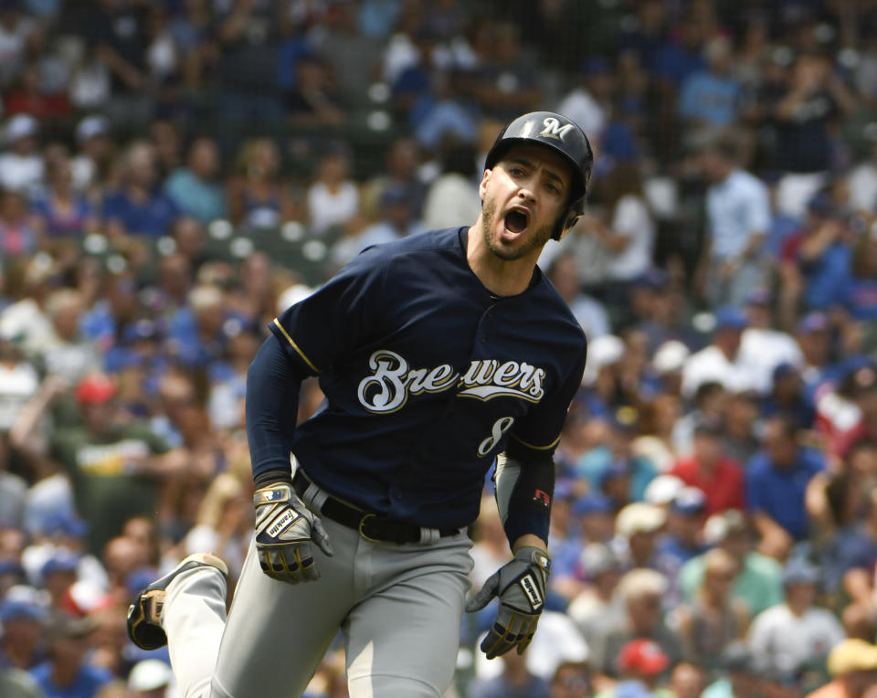 The Brewers have the most days off of any contender with six. (AP)