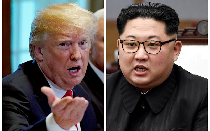 Donald Trump says North Korea summit 'may not happen' - REUTERS