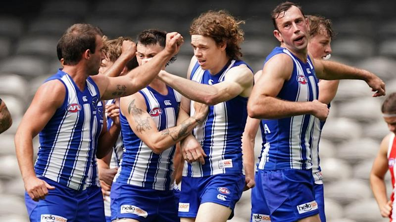 AFL KANGAROOS SAINTS