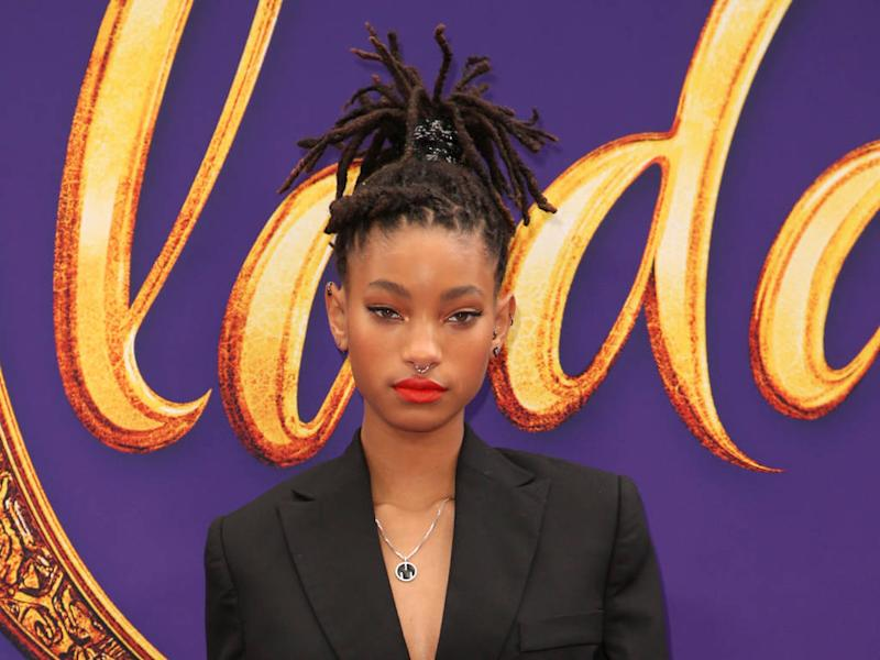 Willow Smith has head shaved during 24-hour performance art piece
