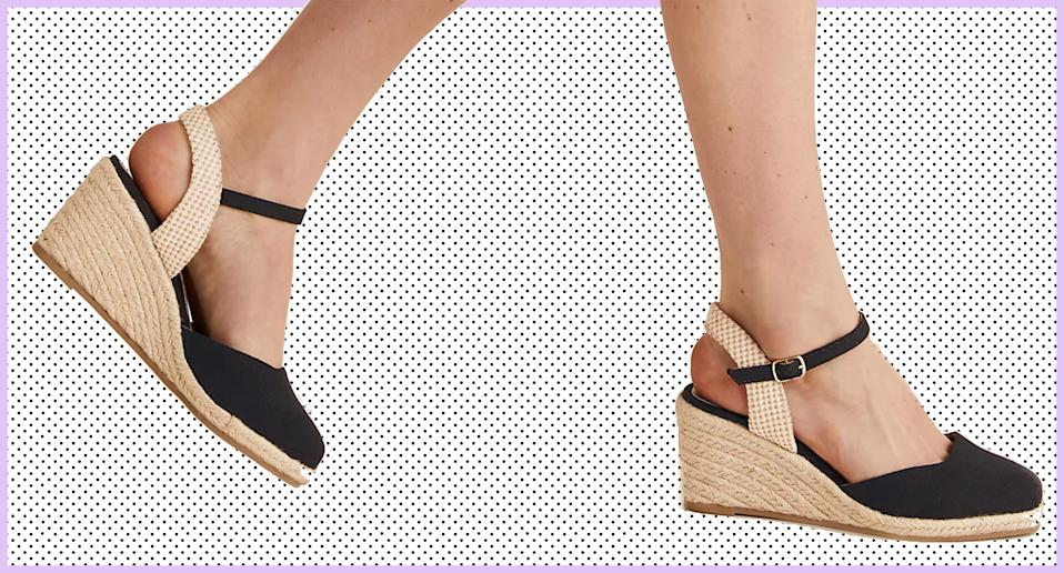 The £22.50 M&S wedge espadrilles we're adding to our basket for summer. (Marks & Spencer)