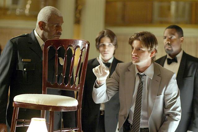 <p>Queer as Folk star Gale Harold starred in this conspiracy-filled kidnapping thriller, which saw its order cut from 22 to 13 episodes after disappointing ratings. (Premiered August 21, 2007)<br><br>(Photo: Everett Collection) </p>