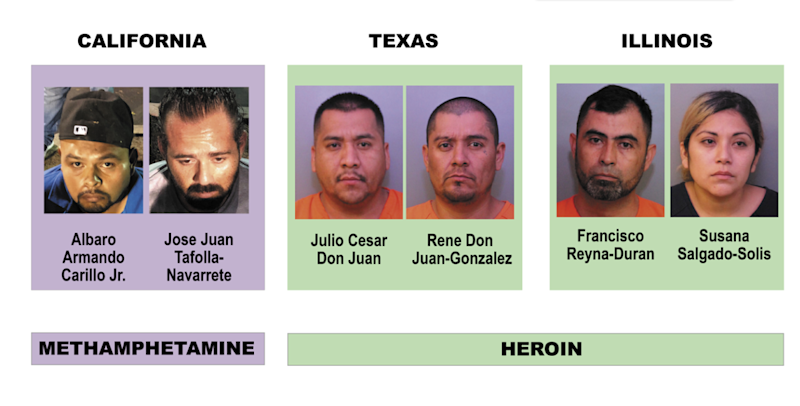 Operation Trifecta, an eighth-month long operation, took approximately $9.5 million dollars worth of meth and heroine off the streets, according to the Polk County Sheriff's Office.