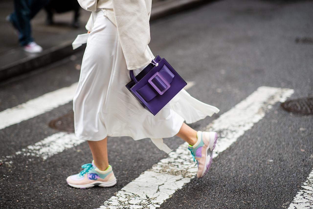 <p>The sneaker trend isn't going anywhere—we'll always need sneakers! Whether you're using them for tourist activities on your next Euro trip, or because they just make slip dresses look cooler, below, shop our favorites for the season. </p>