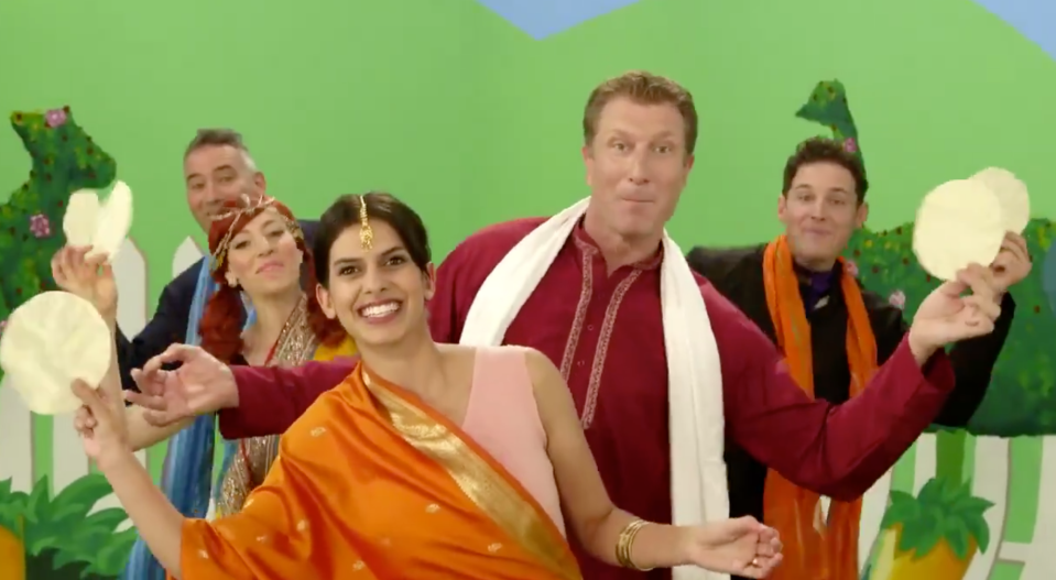 the wiggles indian papadum song