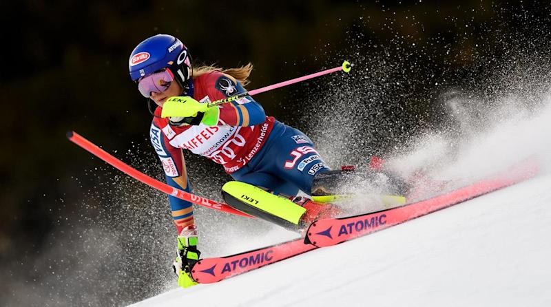 Shiffrin wins giant slalom for 2nd career Olympic gold