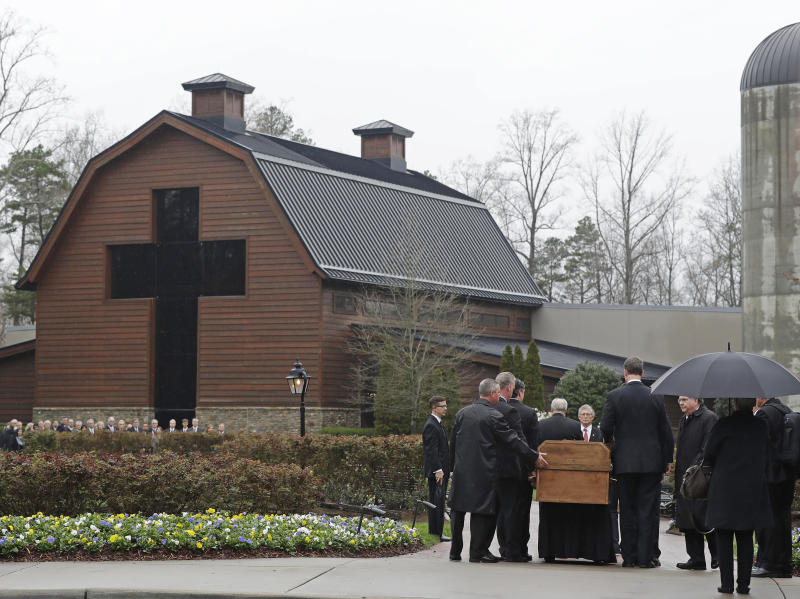 Final Graham funeral hymn had special meaning